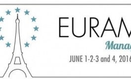 Call for papers: EURAM 2016