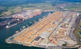 European container port system