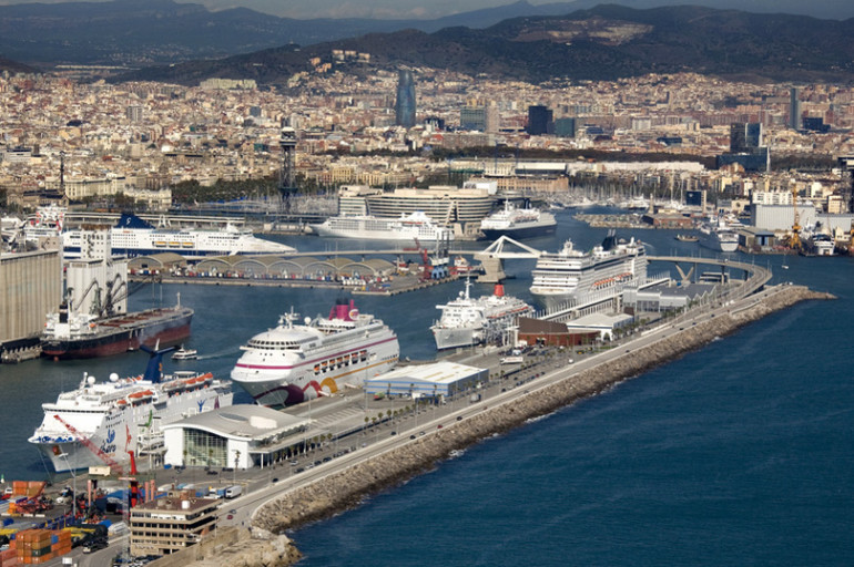 Cruise activities in med ports