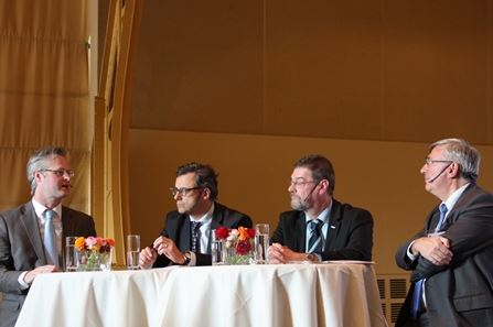 Porteconomics co-director chairs Port Lunch Flanders 2014