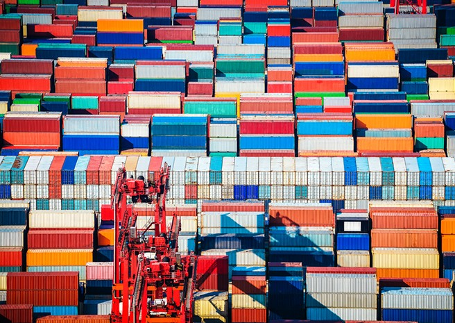 Container port competition in Europe