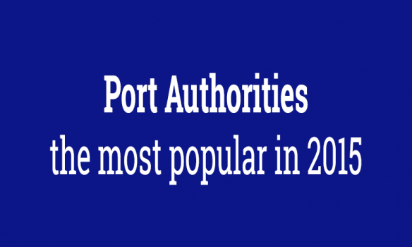 Port Authorities: the most popular in 2015