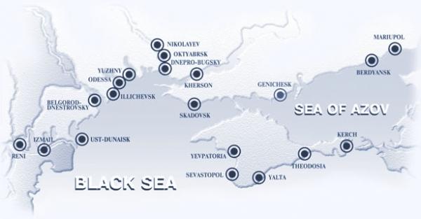 Dry bulk cargo in ukrainian ports