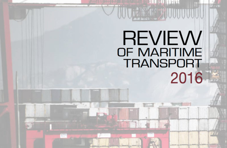 UNCTAD releases review of maritime transport 2016