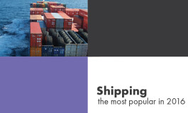 Shipping: the most popular 2016