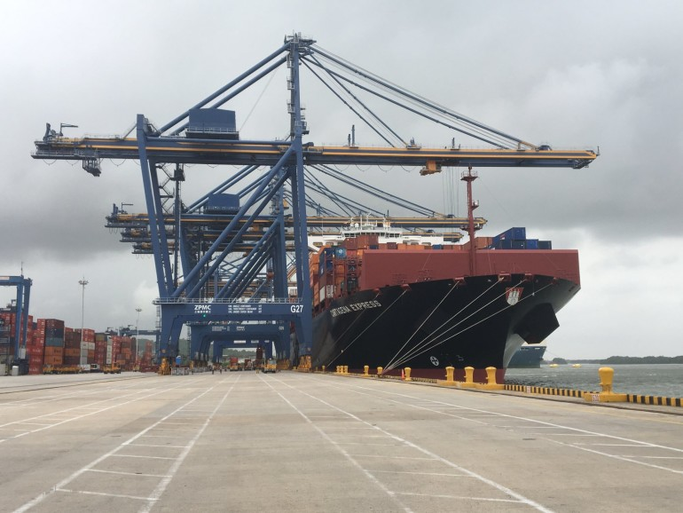 The post-panamax syndrome: the challenges of the port of Cartagena