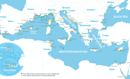 Private entry in cruise terminal operations in the Mediterranean Sea