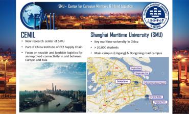 PortEconomics member leads Center for Eurasian Maritime & Inland Logistics (CEMIL) in Shanghai
