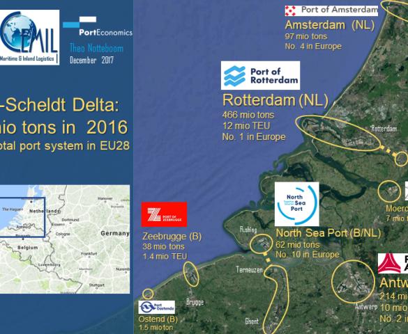 The Rhine-Scheldt delta: the no 1 logistics hub in Europe