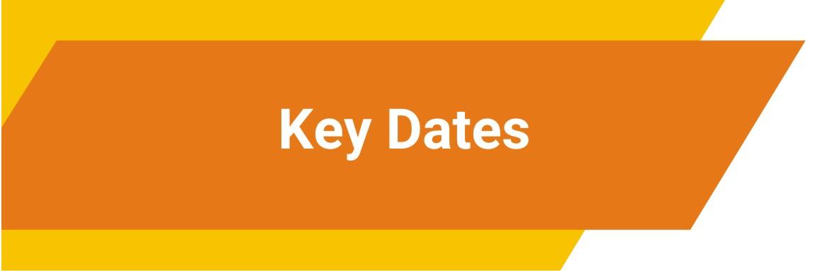 2Key Dates