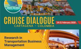 Cruise Dialogue 2020: RTBM themed volume on cruise shipping, ports, and destinations