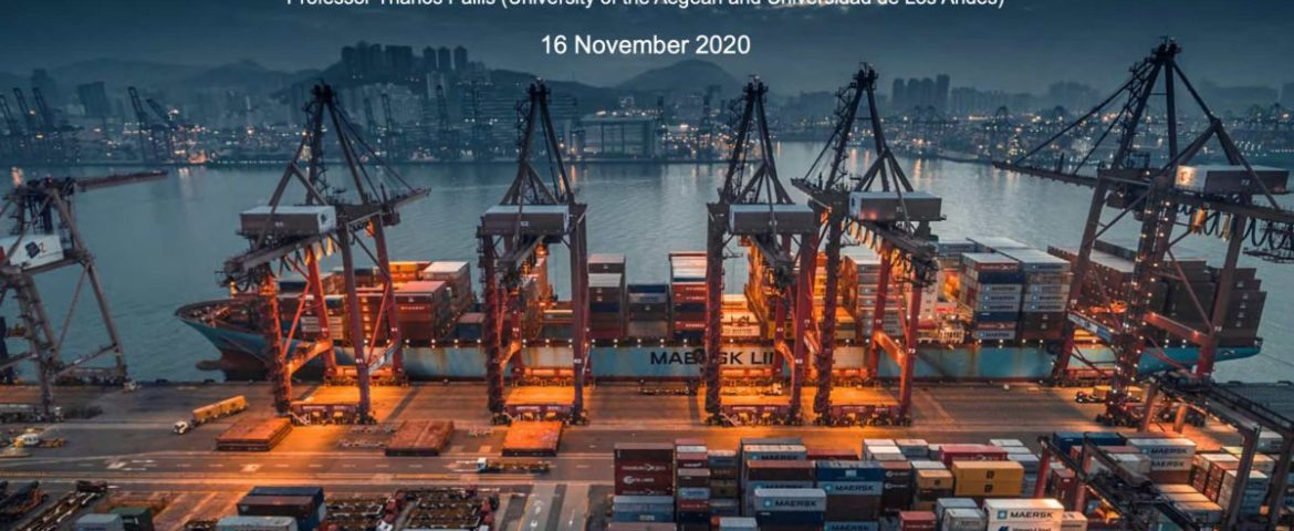 IAPH-WPSP Barometer: possible restructuring of liner container services, a drop in liquid bulk trading and the continued mothballing of cruise services
