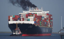 An energy consumption approach to estimate air emission reductions in container shipping