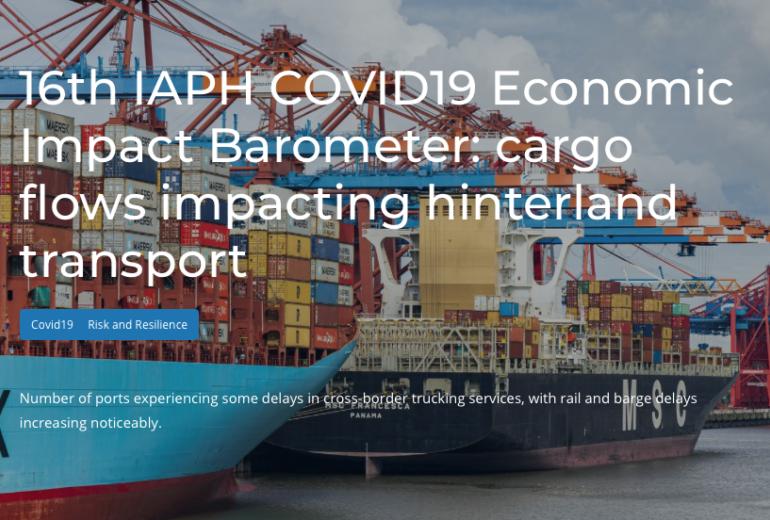 WPSP-IAPH barometer: cargo flows impacting hinterland transport