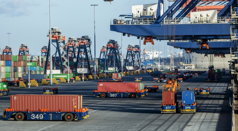 Automation in container port systems and management